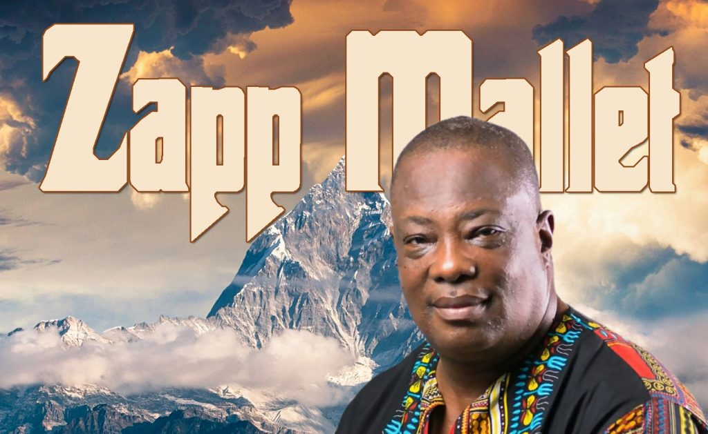 Zapp Mallet has released his latest album, Aayalolo.