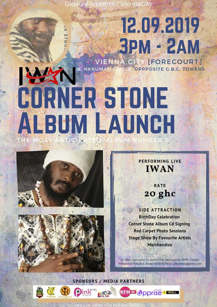 IWAN Corner Stone Album Launch