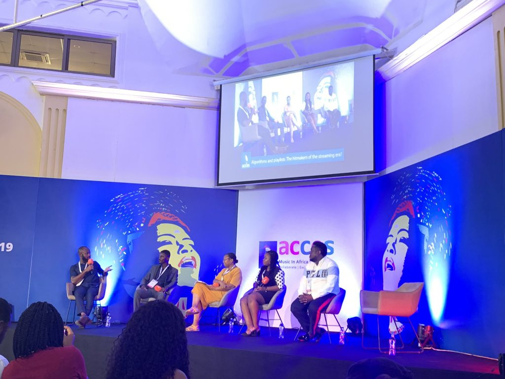 Apprise Music Speaks at ACCES 2019 Africa's leading music business event, featuring, Sarkodie, Efya, Samini & many more